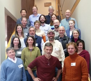 Operationalizing Ecological Forecasting workshop participants. Photo courtesy of the USGS Powell Center.